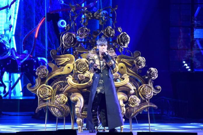 <br> ▲周杰倫「嘉年華」演唱會上海起跑。(圖/杰威爾提供)