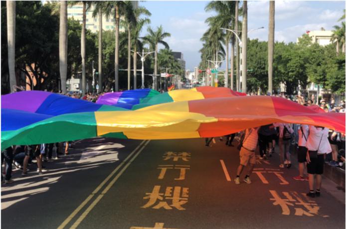 台灣同性友善旅遊國家亞洲第一 泰國同志遊行超盛大