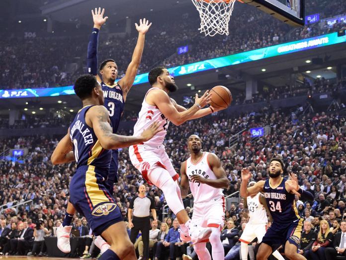 NBA/主將犯滿 暴龍延長賽激戰力退鵜鶘奪本季首勝