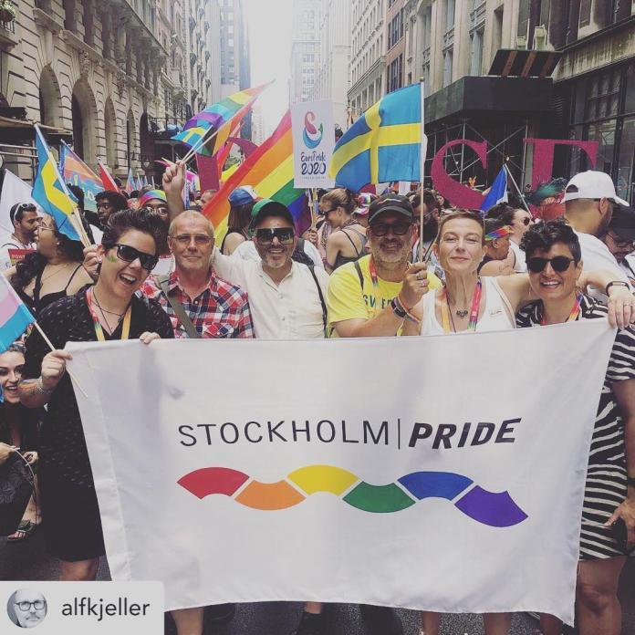 今年從7月29日到8月3日的同志週活動包括靜態演講、展覽、動態音樂會以及遊行。(翻攝自FB: Stockholm Pride)
