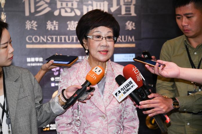 選總統連署11月2日截止 呂秀蓮:若天命不過關只能認了