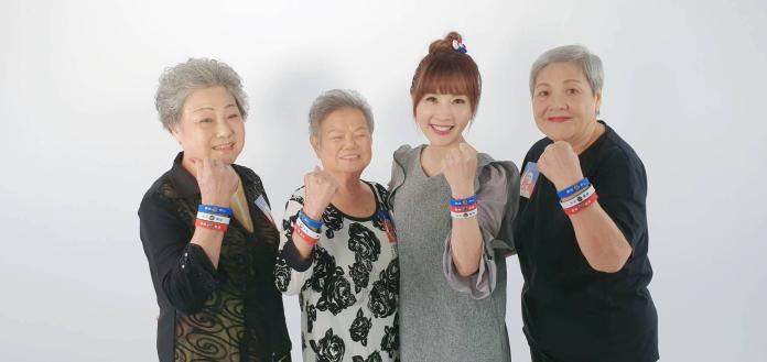 揪地方奶奶組「庶民女F4」 許聖梅獻歌喉力挺韓國瑜