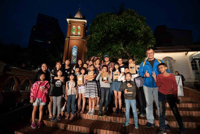 藉由燈光點亮淡水禮拜堂 重現北台灣百年人文軌跡