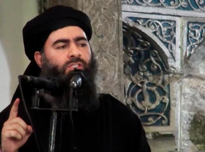 ▲前伊斯蘭國首腦巴格達迪。資料照。(圖/美聯社/達志影像)