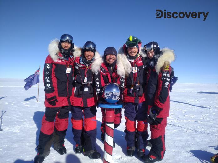 宥勝南極體驗零下30度低溫 睡覺緊抱「救命恩人」尿袋