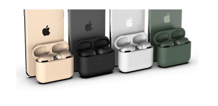 「AirPods Pro」的最後傳言 8種顏色霧面消光好有質感