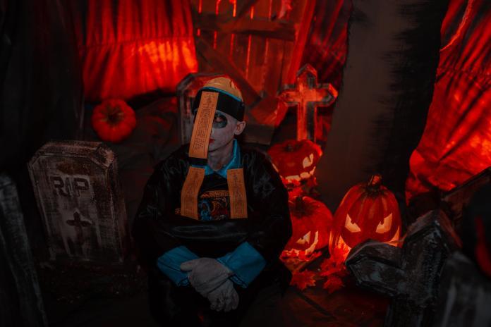 <br> 12歲以下的兒童入館將免費獲得糖果。今年萬聖節,就讓中國風的鬼怪陪你一同度過。(圖/3D ART MUSEUM)