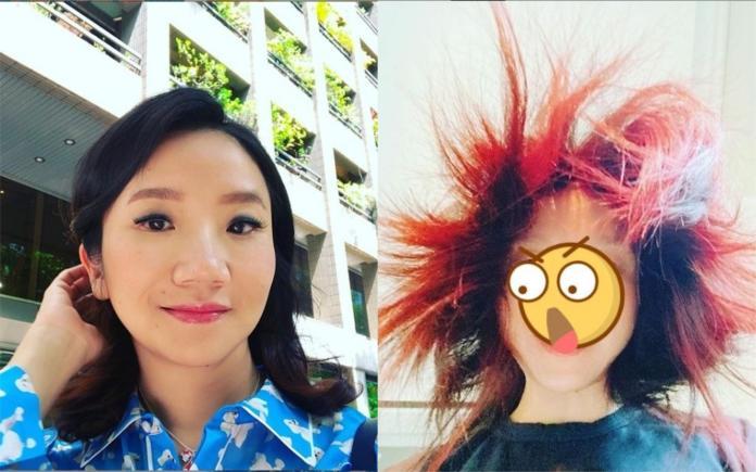 49歲陶晶瑩「炸毛!」素顏照曝光 讓粉絲們都笑了