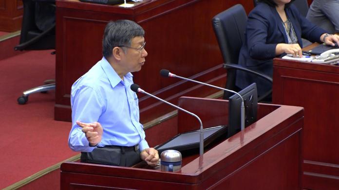 影/蔡壁如稱提前佈局2024 柯文哲:她的言論與本人無關