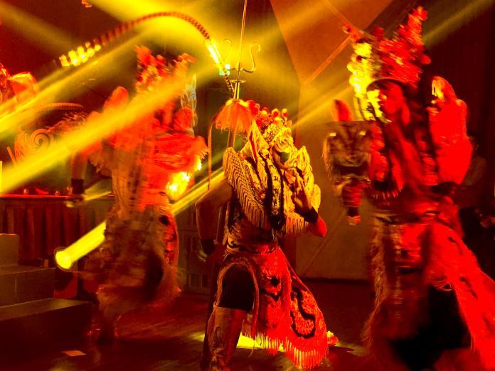 全台首用4D技術結合戰鼓神將 虛實結合跨界展演