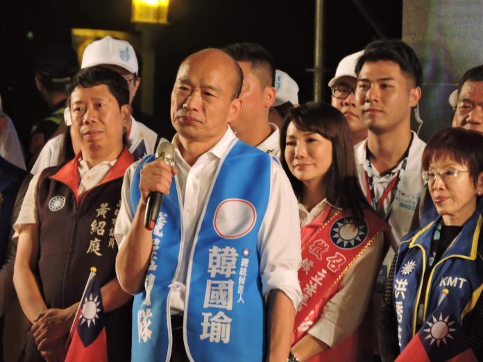 韓國瑜日前指「民進黨的人都白白胖胖,國民黨則黑黑瘦瘦」,引發風波。