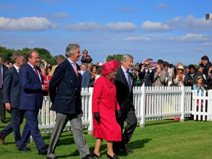英國女王伊莉莎白二世。