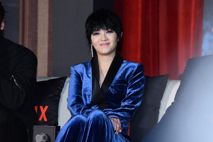 <br> ▲范曉萱挑戰演出黑道大哥的女人。(圖/記者林柏年攝)