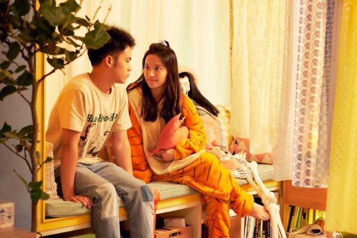 ▲蔡瑞雪在片中暗戀李淳(左)。(圖/威視)