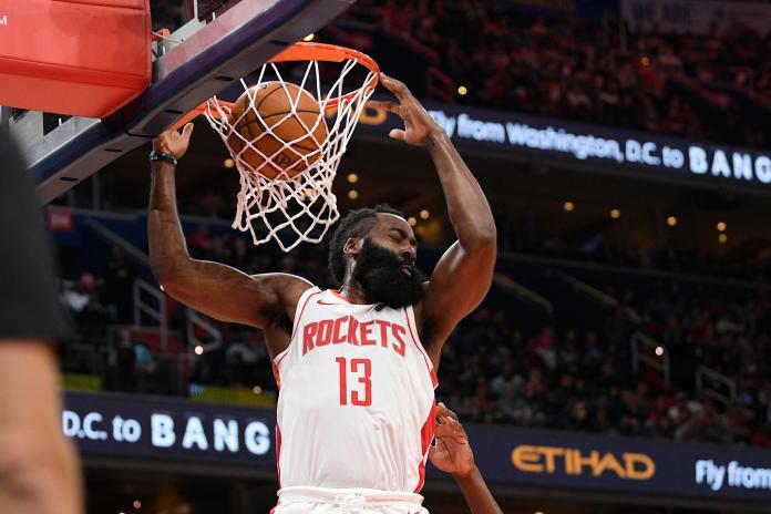 Rockets Wizards Basketball