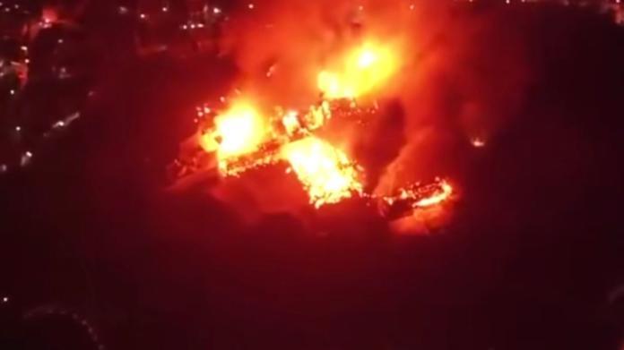 日本沖繩首里城大火