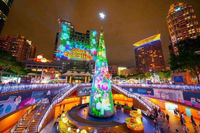 新北歡樂耶誕城11月中開城 雷射光雕秀、三大看點報你知