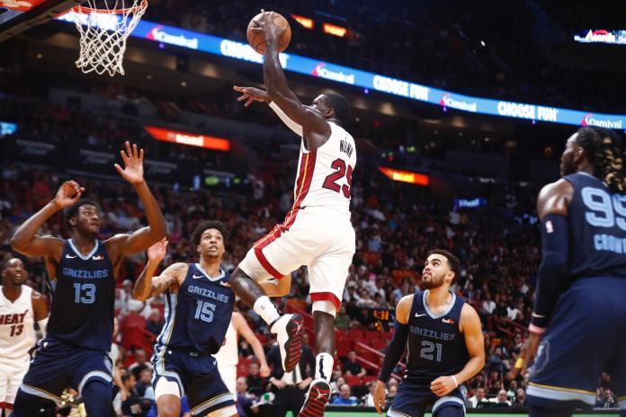 NBA/生涯前五場得分破紀錄! 熱火落選後衛締造歷史