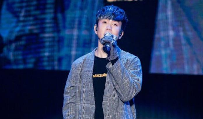 ▲林俊傑抱病開唱。(圖/翻攝微博)