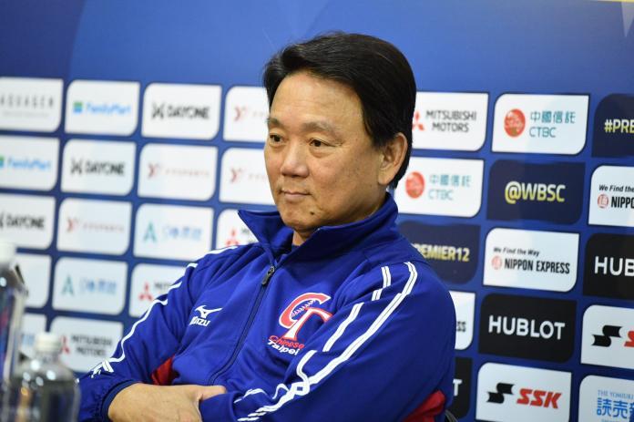 世界棒球12強中華隊總教練洪一中。(圖/記者林柏年攝)