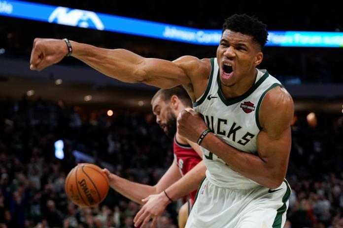 NBA/史上最快!字母哥狂砍41分20籃板6助攻
