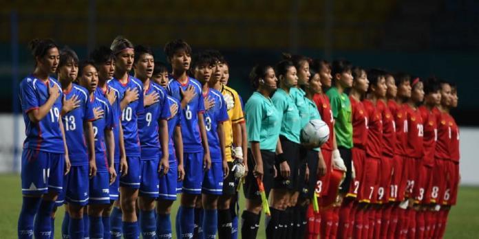 ▲雅加達亞運,中華女足相隔20年重返亞州4強。(圖/中華足協提供)