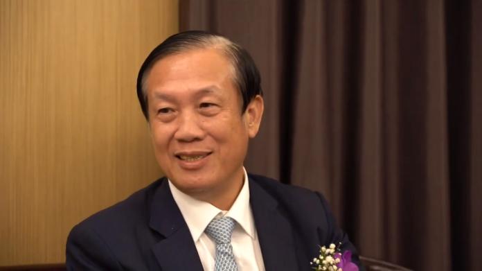 ▲商總理事長賴正鎰。(圖/陳人豪攝,2019.11.01)