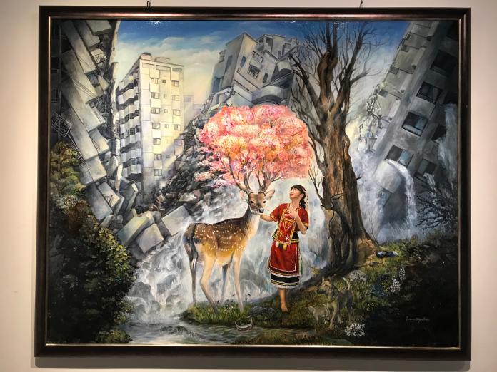 <br> ▲國立彰化生活美學館展出新世代的繽紛色彩和實相。(圖/記者陳雅芳攝,2019.11.06)