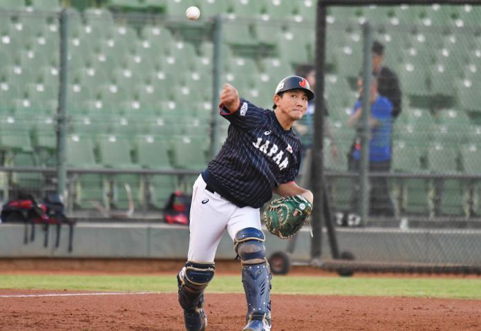 ▲世界棒球12強日本隊捕手小林誠司。(圖/記者葉政勳攝