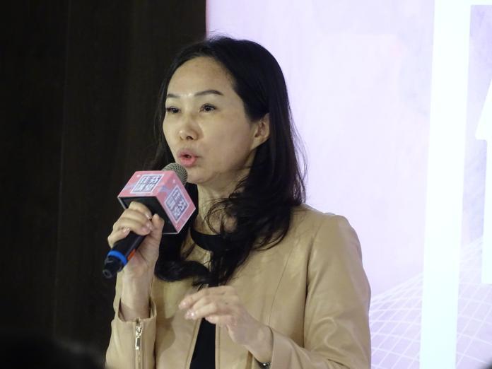 <br> 高雄市長韓國瑜的夫人李佳芬。(圖/記者呂炯昌攝)