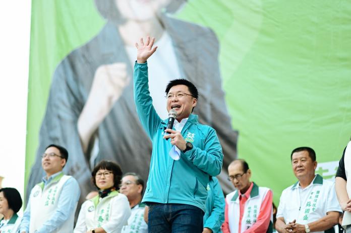 ▲趙天麟表示,他拜託鹽埕的支持者,明年1月11日衝第6選區最高票,讓明年的選舉可以從鹽埕區贏起。(圖/趙天麟後援會提供)
