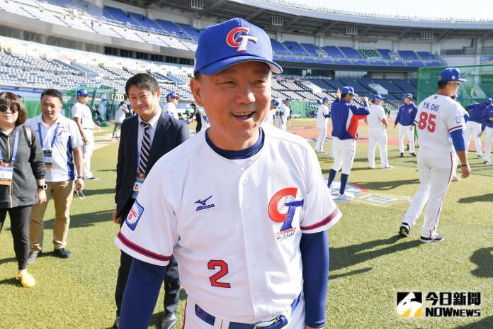 ▲世界棒球12強,中華隊總教練洪一中。(圖/記者葉政勳
