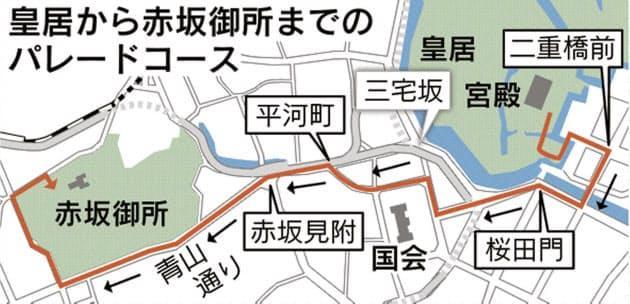 遊行路線圖