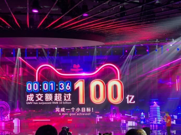 雙11熱/剁手族狂紀錄 天貓開跑交易額1分36秒超過500億