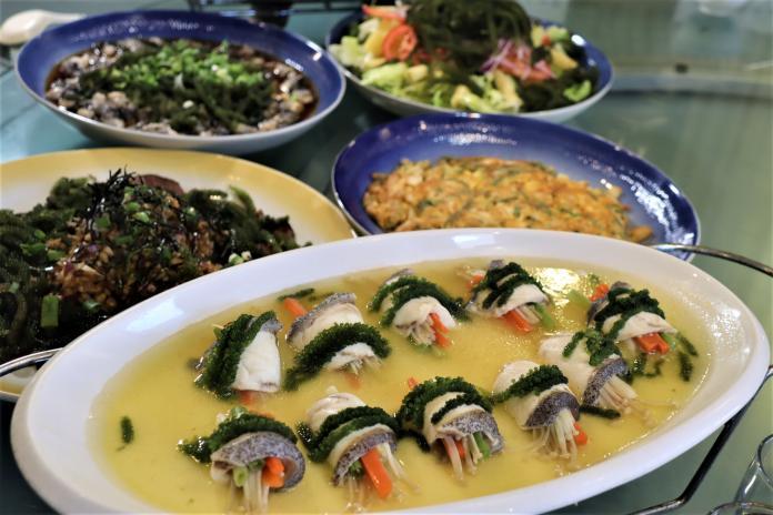 海中綠色蔬菜 澎推出<b>海葡萄</b>創意料理爽口養生
