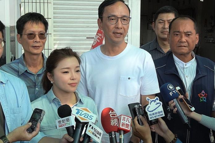 韓國瑜公布副手張善政