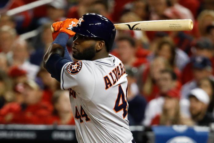 MLB/太空人新人王艾瓦瑞茲右膝手術 本季提前報銷