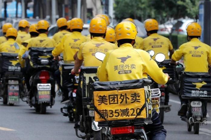 ▲杭州有數位年輕人利用外送平台的規定漏洞,大吃免費霸王餐。(示意圖/翻攝自百度)
