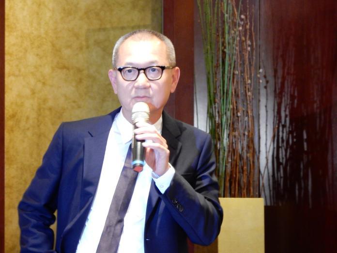 ▲國巨董座陳泰銘(圖/記者許家禎攝,2019.11.12)