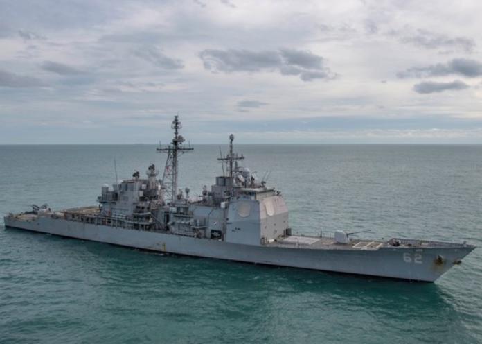 今年9月後首次!美軍艦12日行經台灣海峽