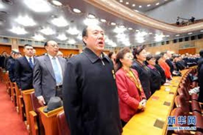 <br> 吳斯懷曾於2016年與32名退將共赴北京人民大會堂參加「孫中山先生誕辰150周年紀念活動」。( 圖 / 新華網 )