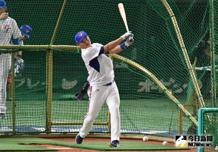 ▲世界棒球12強,中華隊外野手胡金龍。(圖/記者葉政勳