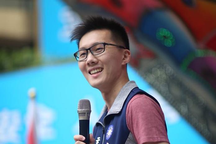 國民黨青年部主任蕭敬嚴。( 圖 / 翻攝蕭敬嚴臉書 )