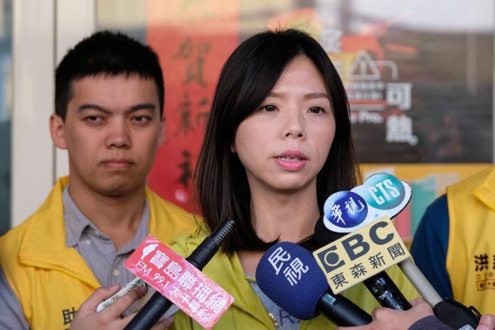 楊瓊櫻<b>帶職參選</b> 洪慈庸:辭副市長展現決心參選