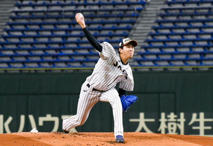 <br> ▲世界棒球12強日本隊投手岸孝之。(圖/記者葉政勳攝 , 2019.11.14)