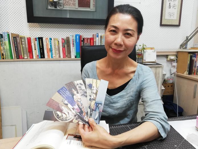 吳靜芳唯美紙雕書籤 陪伴美好閱讀時光