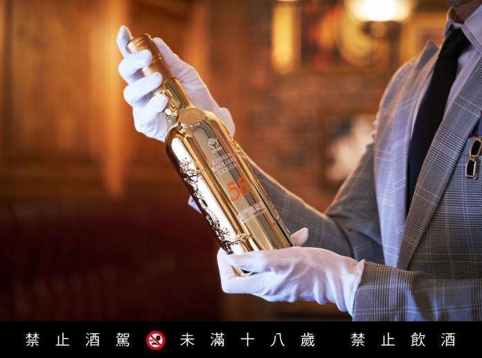 <br> ▲「金牌中的金牌」58度金門高粱酒「鍍金」實至名歸。(圖/公關照片)