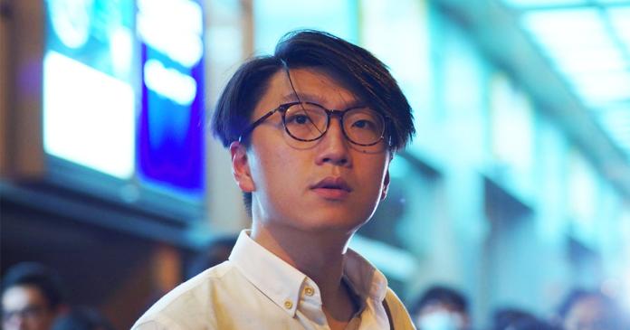 ▲香港本土民主前線前發言人梁天琦