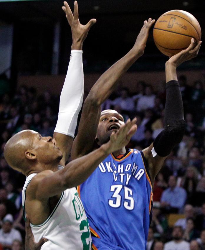 NBA/爆料KD曾想去塞爾提克 傳奇射手:他加入我就復出