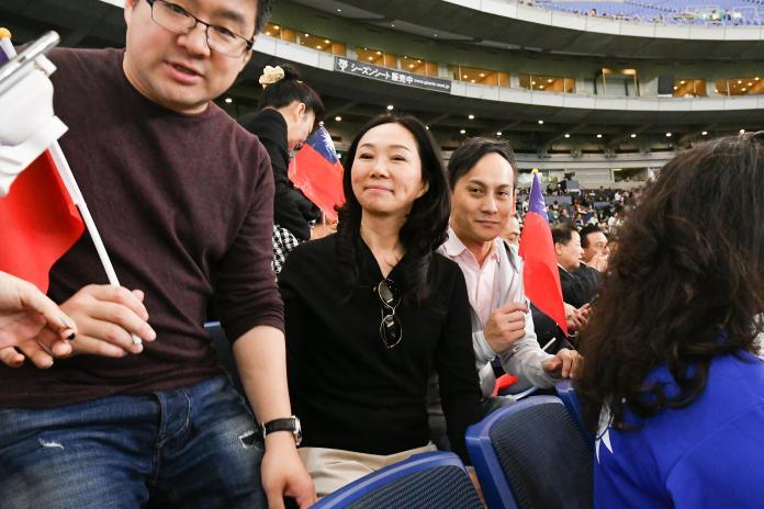 <br> ▲韓國瑜妻子李佳芬。(圖/記者葉政勳攝)